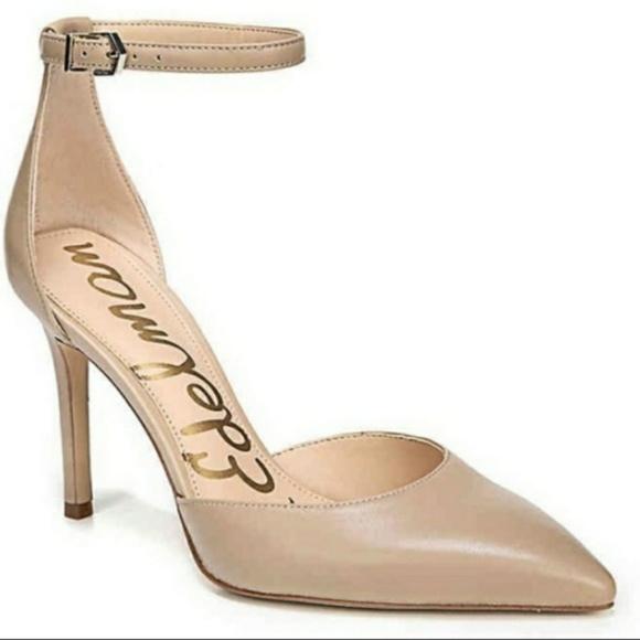Sam Edelman Shoes - SAM EDELMAN Harlow Pointed Pumps-Nude